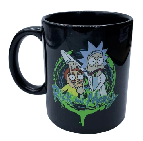 Caneca Portal: Rick and Morty - Exclusiva ToyShow
