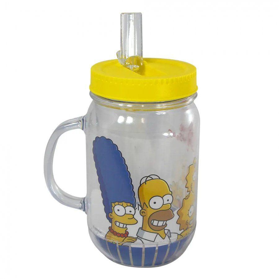 Caneca Pote Família Simpsons: Os Simpsons - 500ML
