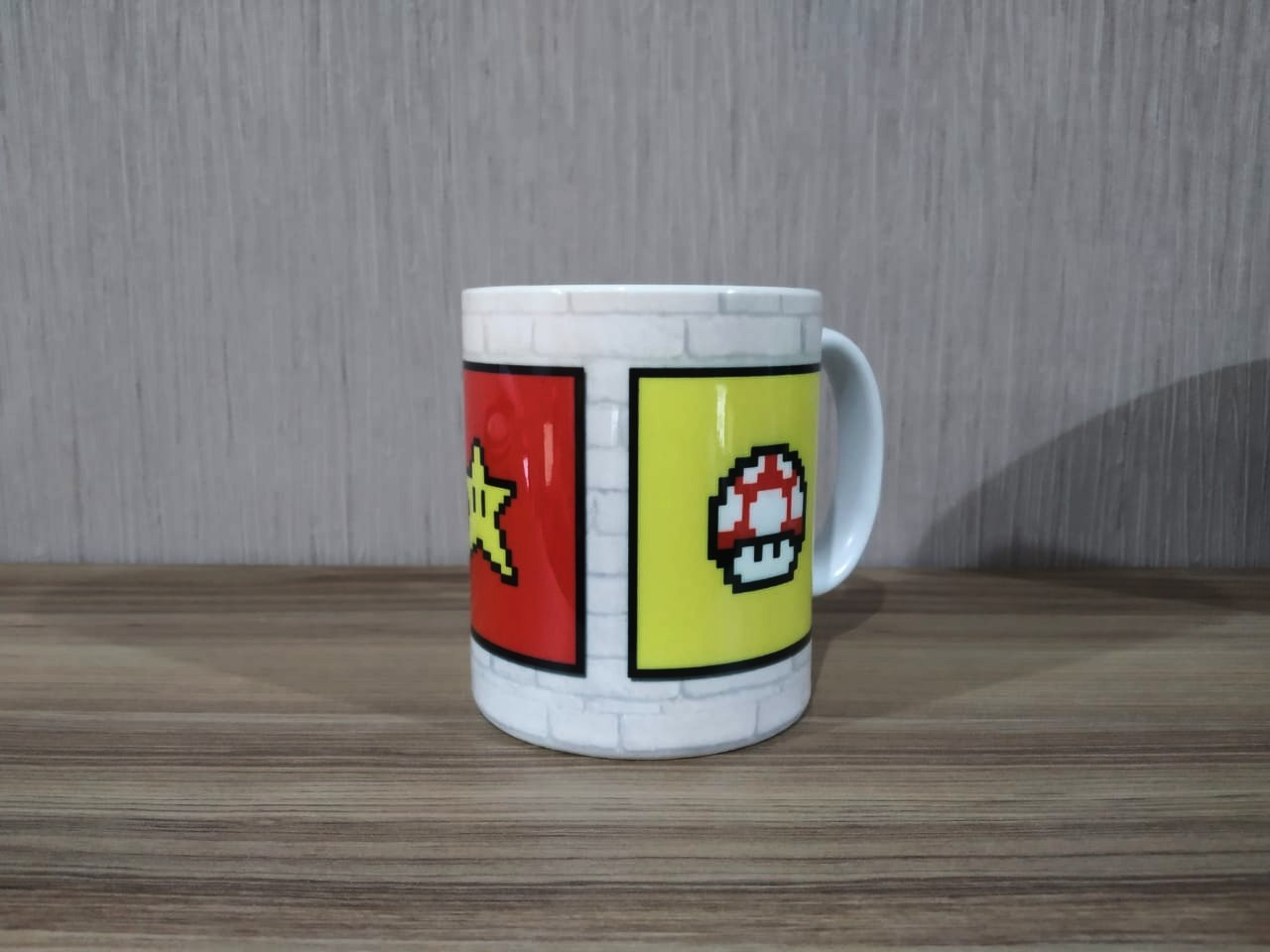 Caneca: Power Up (Super Mario Bros)