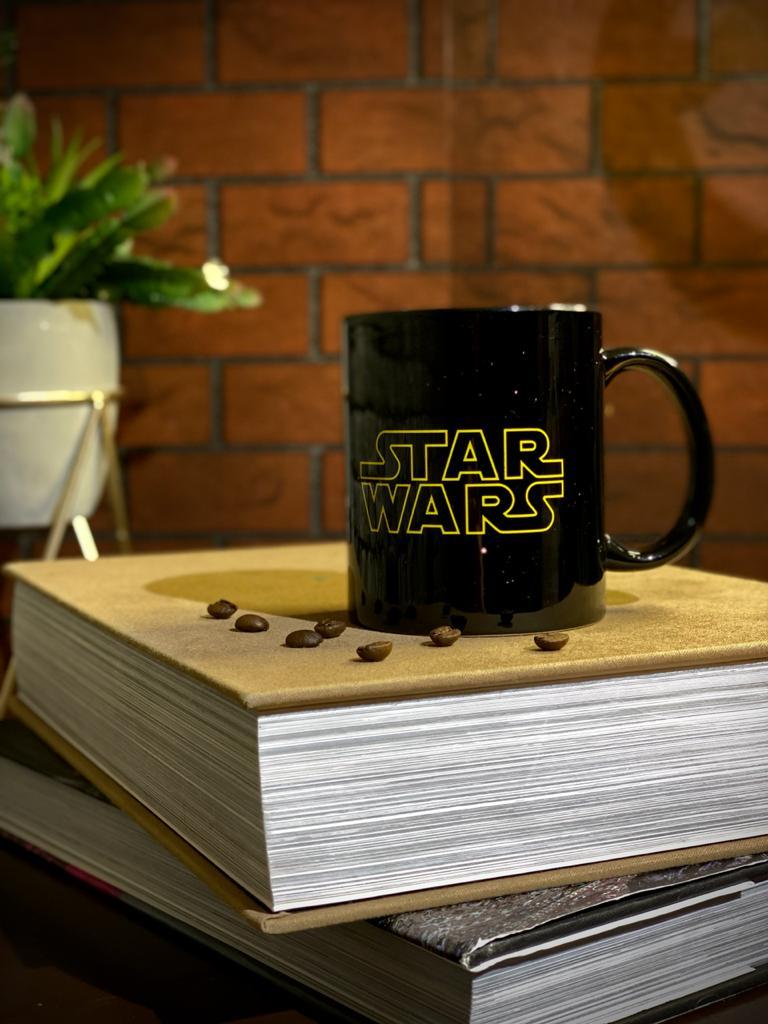 Caneca Preta Star Wars - EV