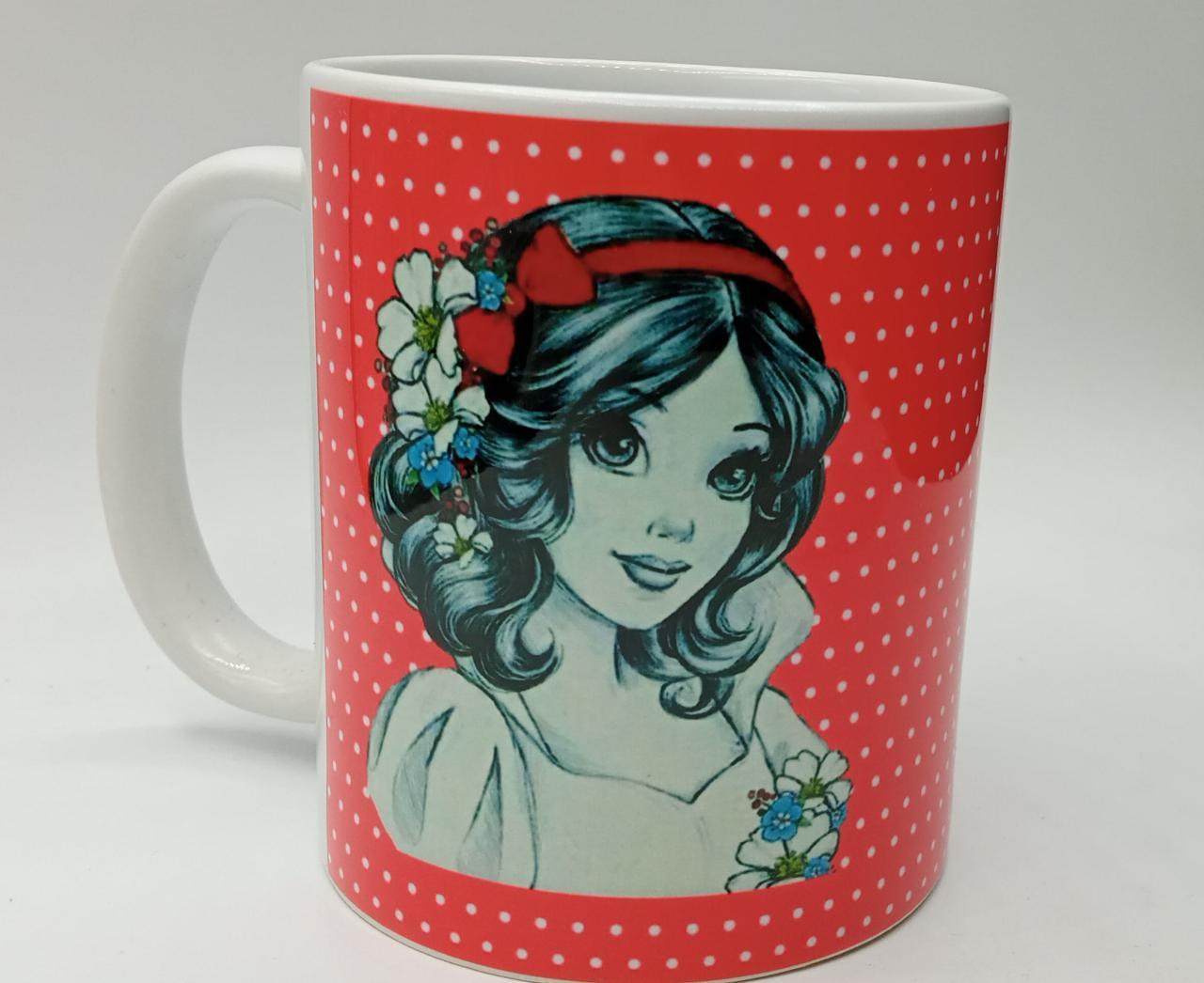 Caneca ''Princesa Branca De Neve'' - Disney (Branca)