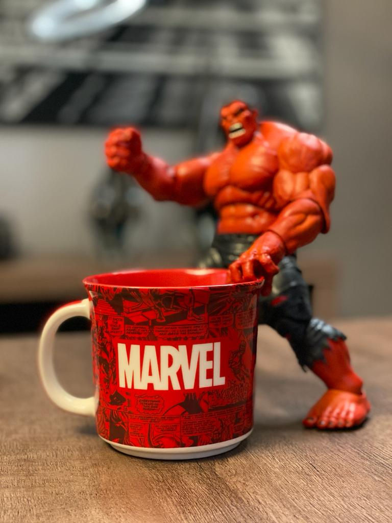 Caneca Quadrinhos Marvel Comics - (350ML)
