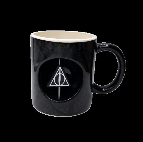 Caneca Relíquias da Morte: Harry Potter (Com Relíquia Giratória)