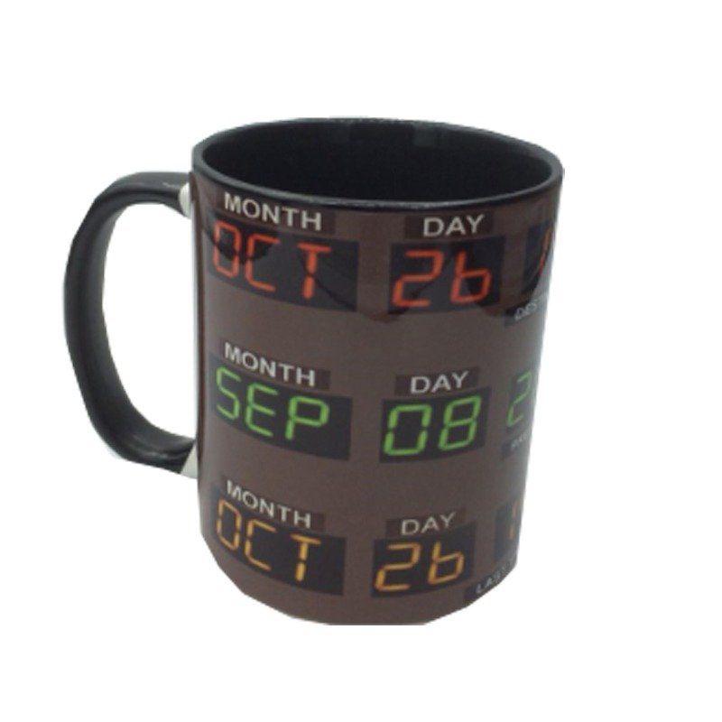 Caneca Relógio de Tempo: De Volta Para O Futuro (330 ML) -EV