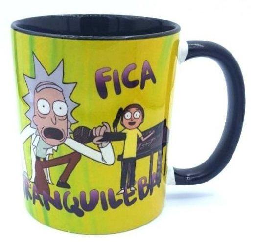 Caneca Rick And Morty: Fica Tranquileba