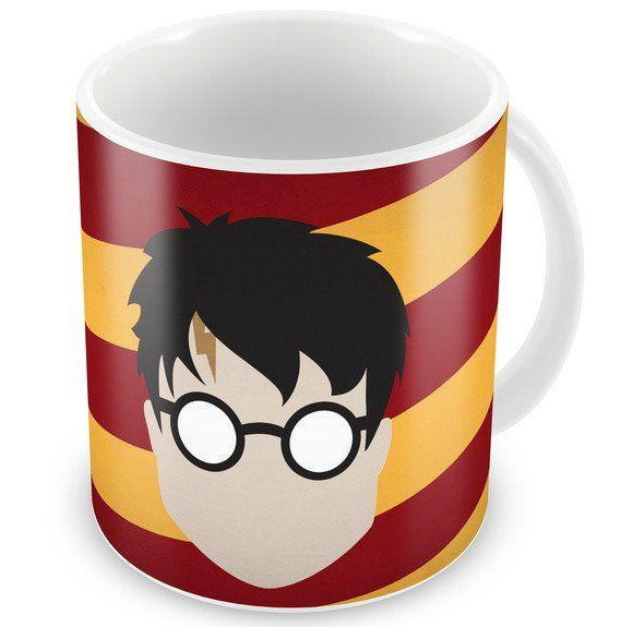 Caneca Rosto Harry Potter - (325ML) - EV
