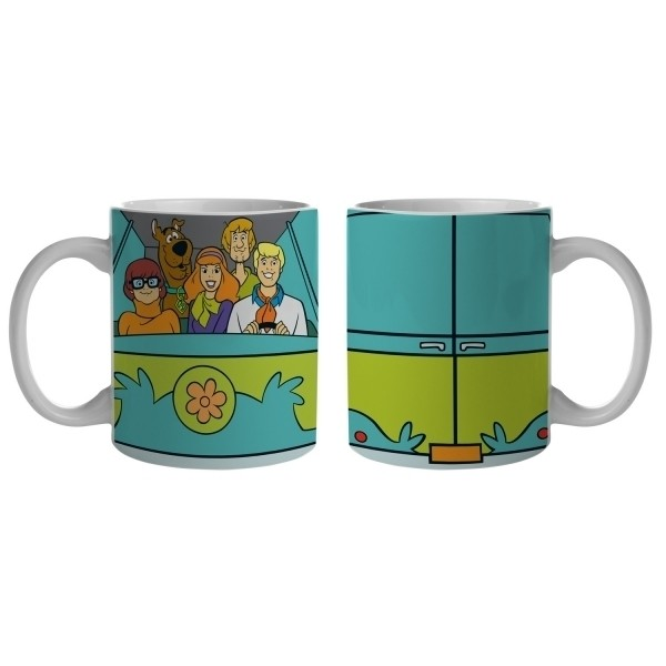 Caneca Scooby Everybody In the Mystery Mac - Urban