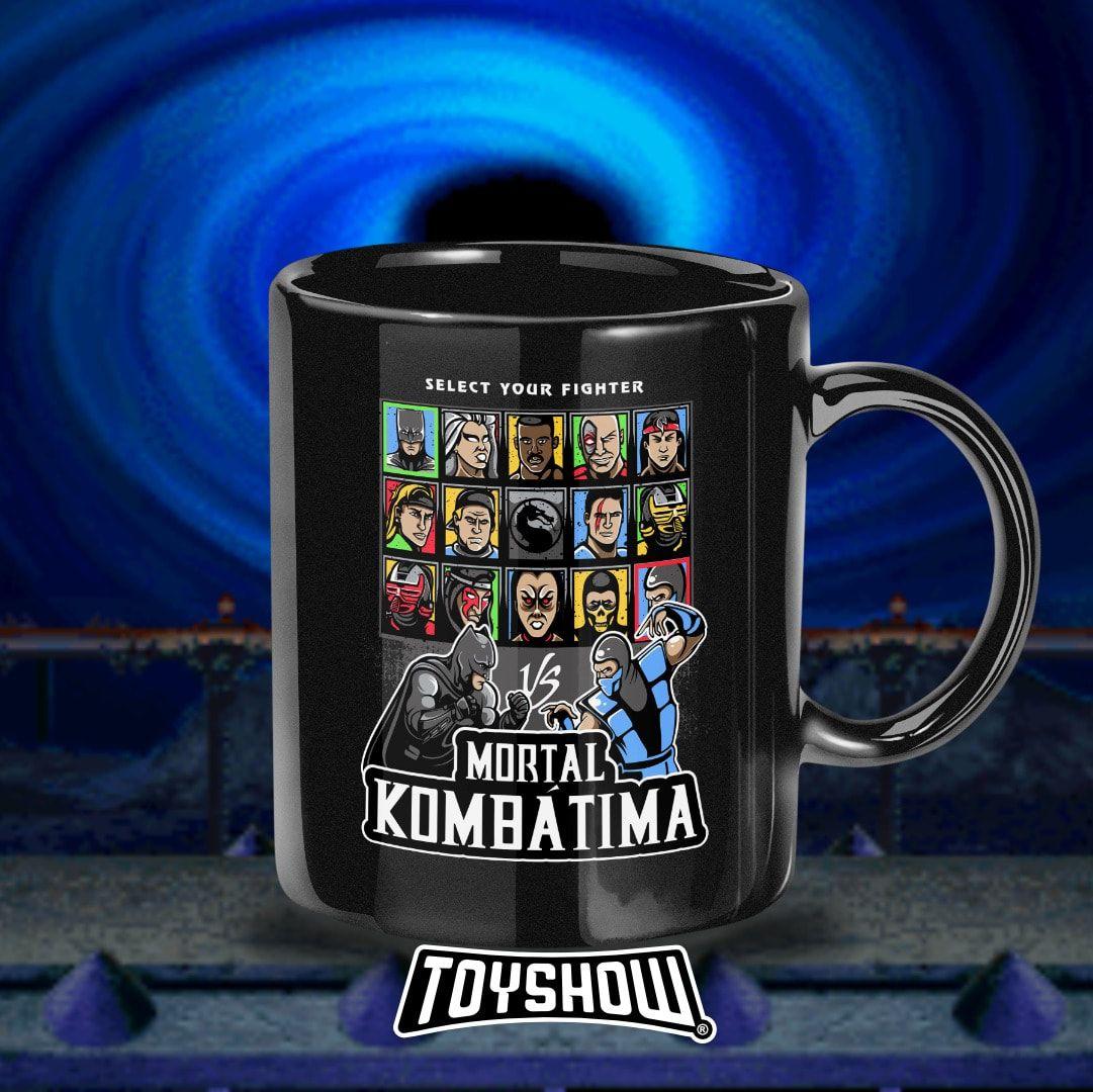Caneca Select Your Fighter: Mortal Kombátima - Toyshow