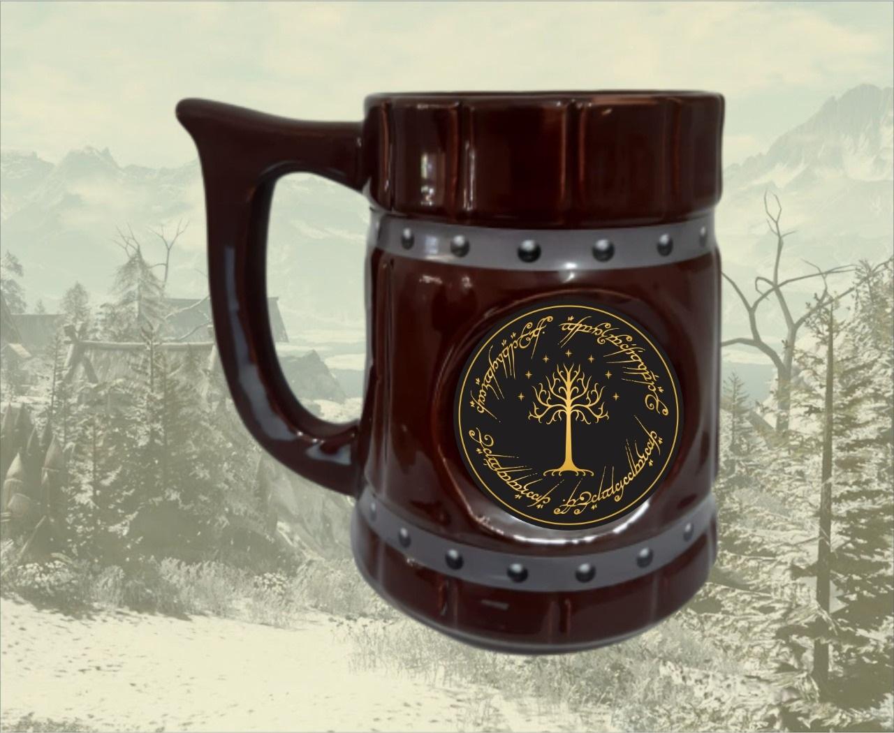 Caneca Viking Senhor Dos Anéis Lord Of The Rings 700ml - EV