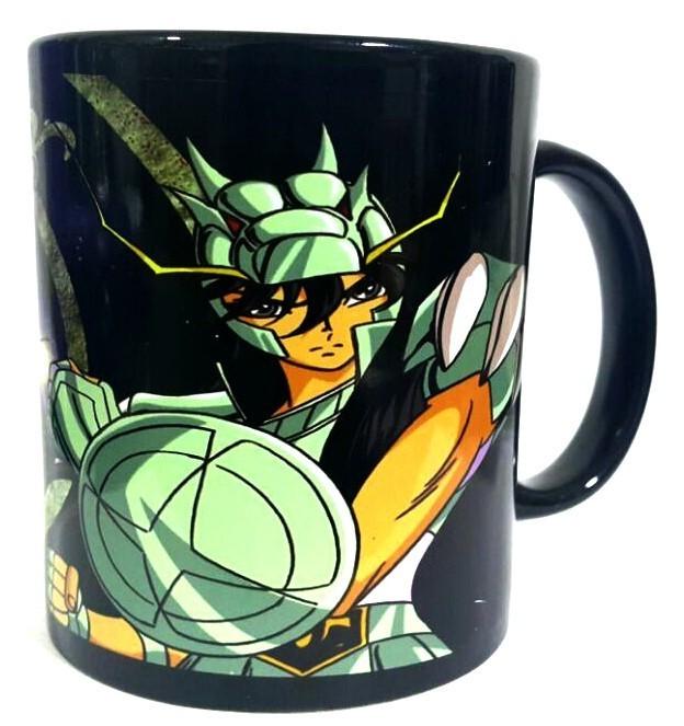 Caneca Shiryu de Dragão: Os Cavaleiros do Zodíaco