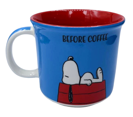 Caneca Snoopy: Peanuts - (350ML)