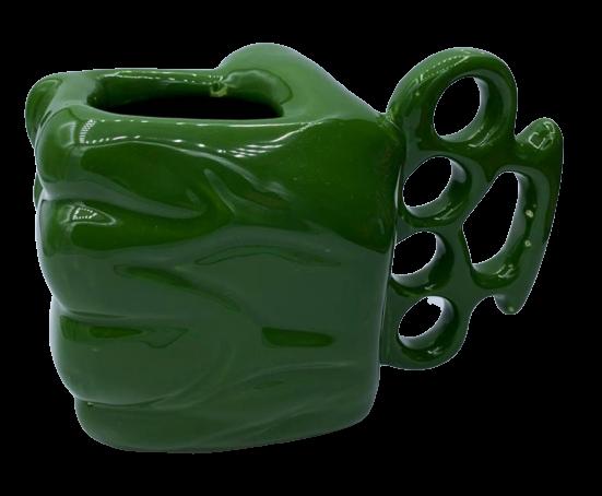 Caneca Soco Inglês 3D Hulk: Os Vingadores (The Avengers)