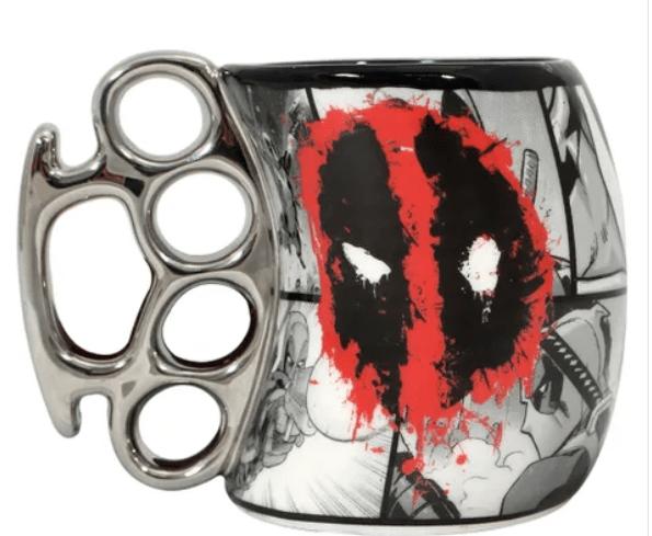 Caneca Soco Inglês Deadpool: DC (350ml) - Zonacriativa