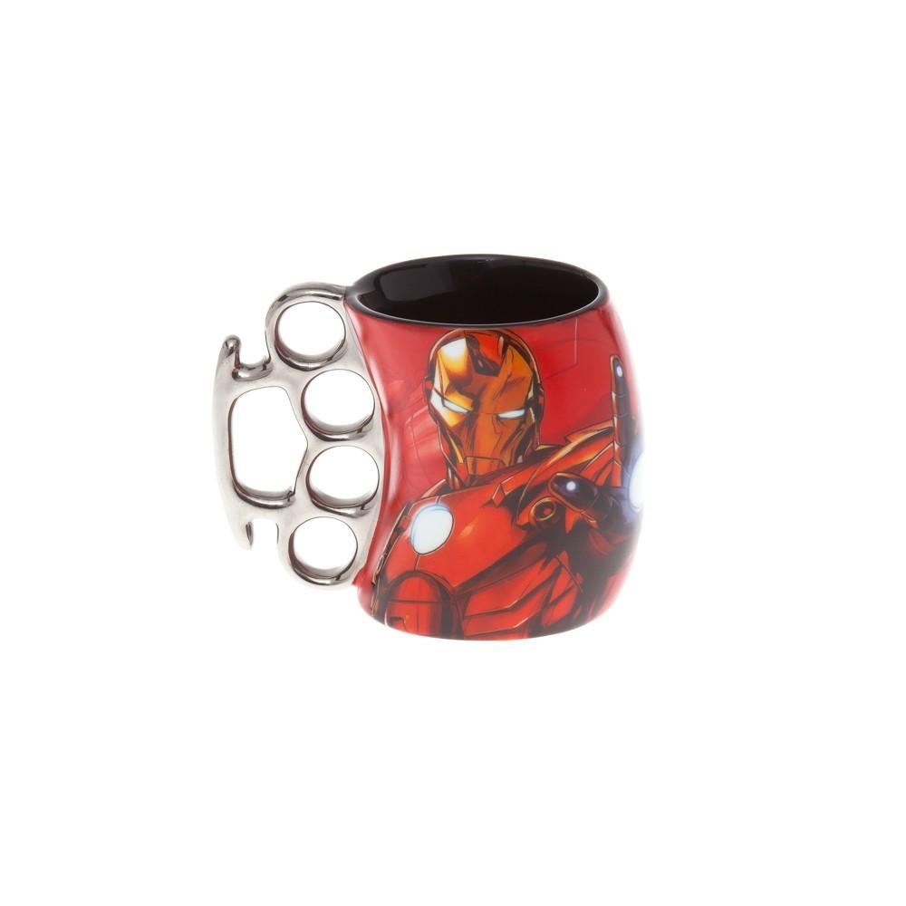 Caneca Soco Inglês Iron Man