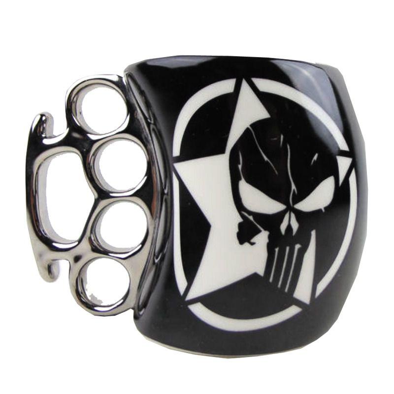 Caneca Soco Inglês Punisher: Marvel (350ml) - Zonacriativa