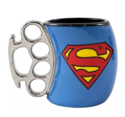 Caneca Soco Inglês Super-Homem (Superman): DC (350ml) - Zonacriativa