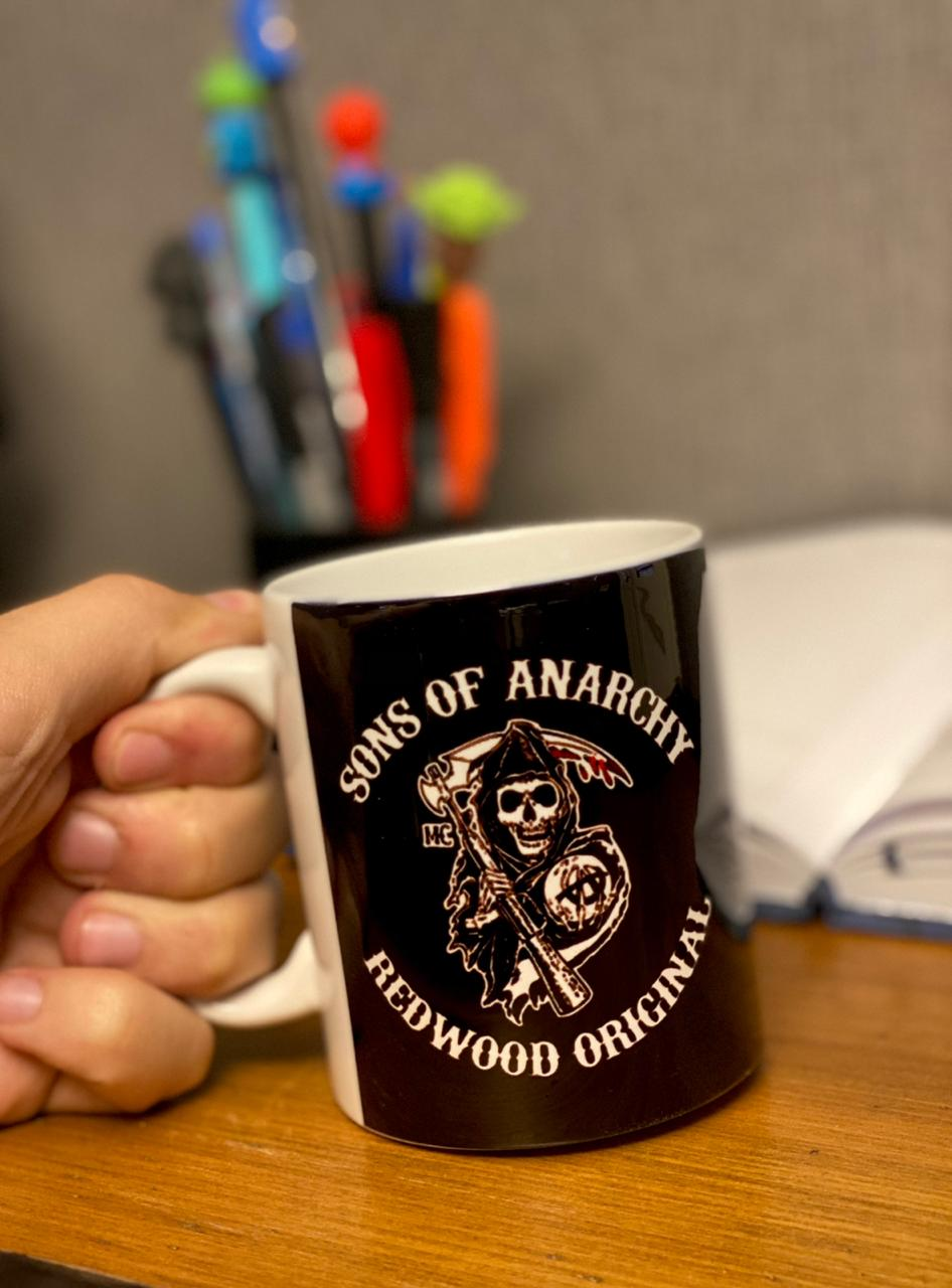Caneca: Sons Of Anarchy - Redwood Original