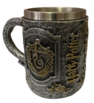 Caneca Sonserina (Slytherin): Harry Potter (400ml)
