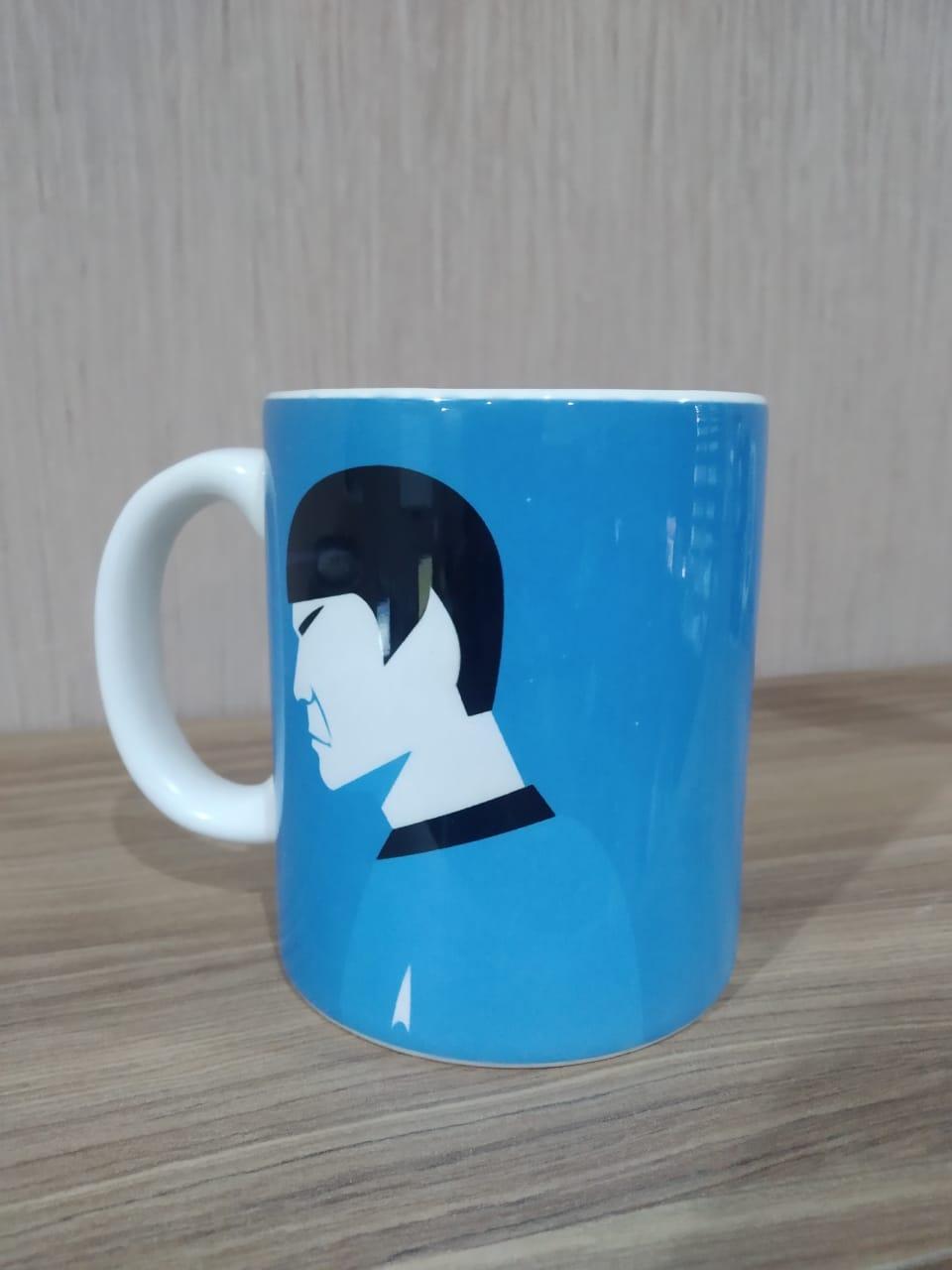Caneca Star Trek: Spock