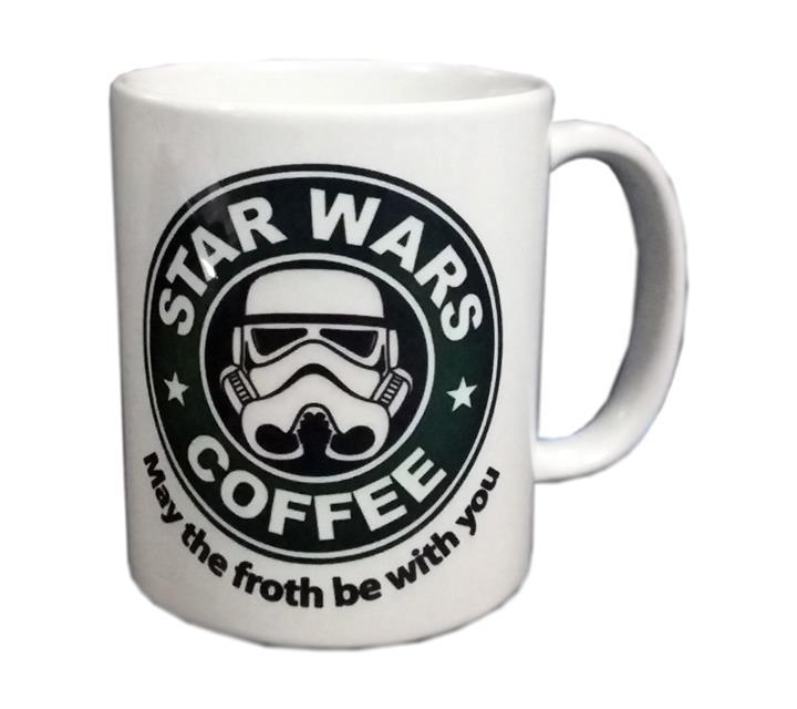 Caneca Stormtrooper: Star Wars Coffee