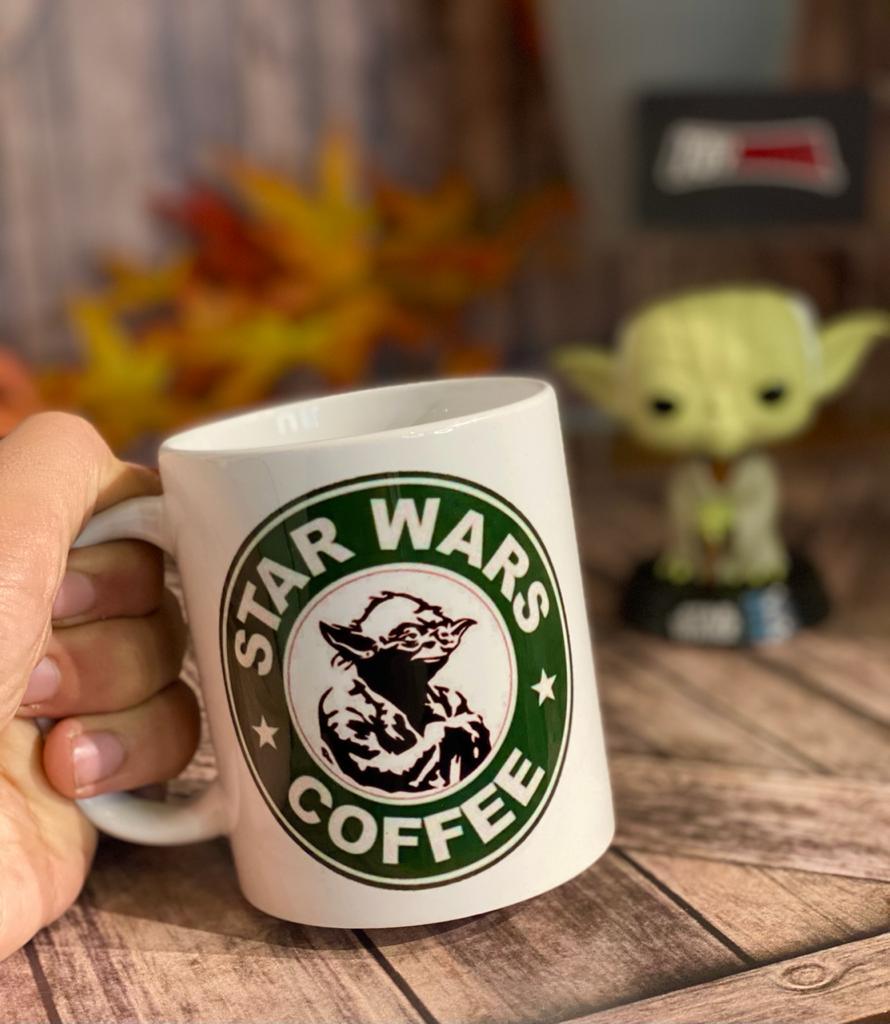Caneca Star Wars Coffee - (300ml) - EV  - Toyshow Geek e Colecionáveis Tudo em Marvel DC Netflix Vídeo Games