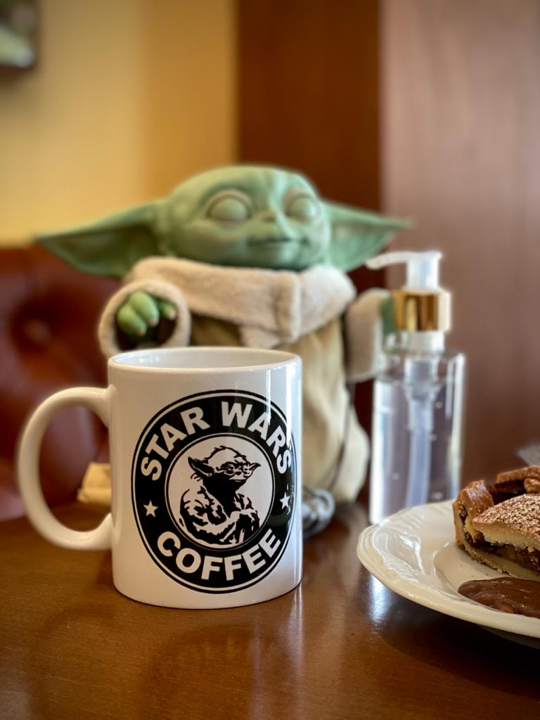 Caneca Star Wars Coffee - (300ml)