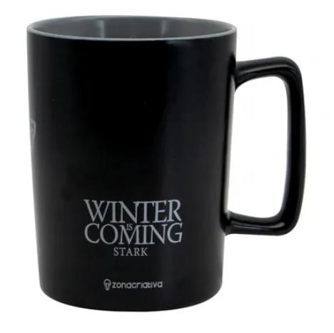 Caneca Stark (Winter is Coming): Game Of Thrones (500ml) - Zonacriativa