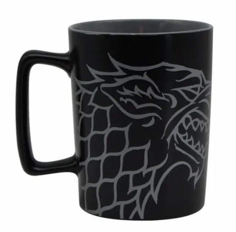 Caneca Stark (Winter is Coming): Game Of Thrones (500ml) - Zonacriativa