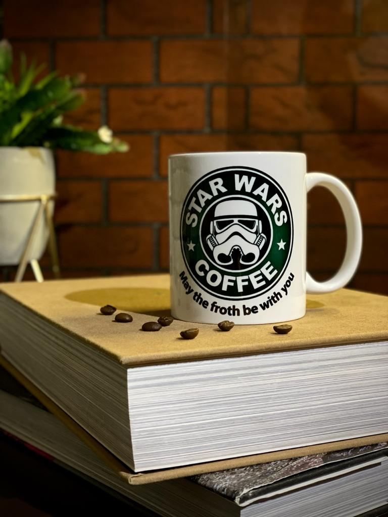 Caneca Stormtrooper: Star Wars Coffee - EV