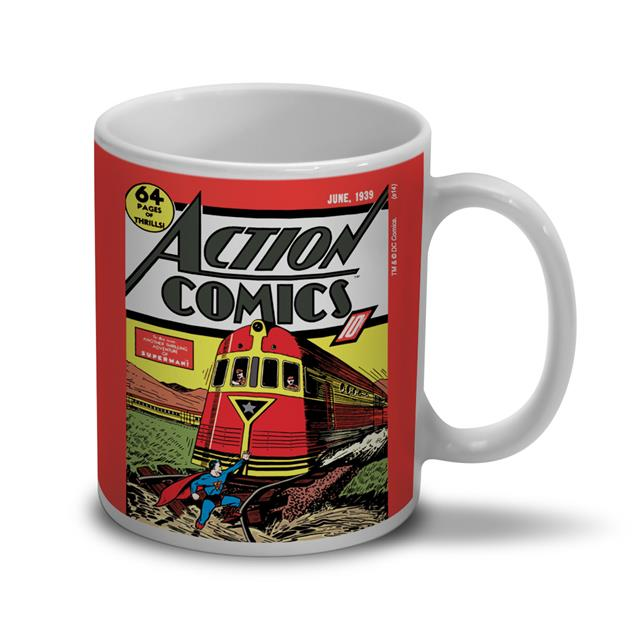 Caneca Superman Action Comics - BandUp!