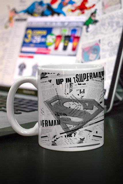Caneca Superman Planeta Diário - BandUP!