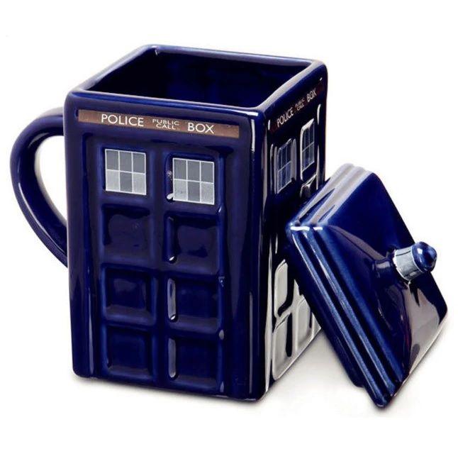 Caneca TARDIS: Doctor Who