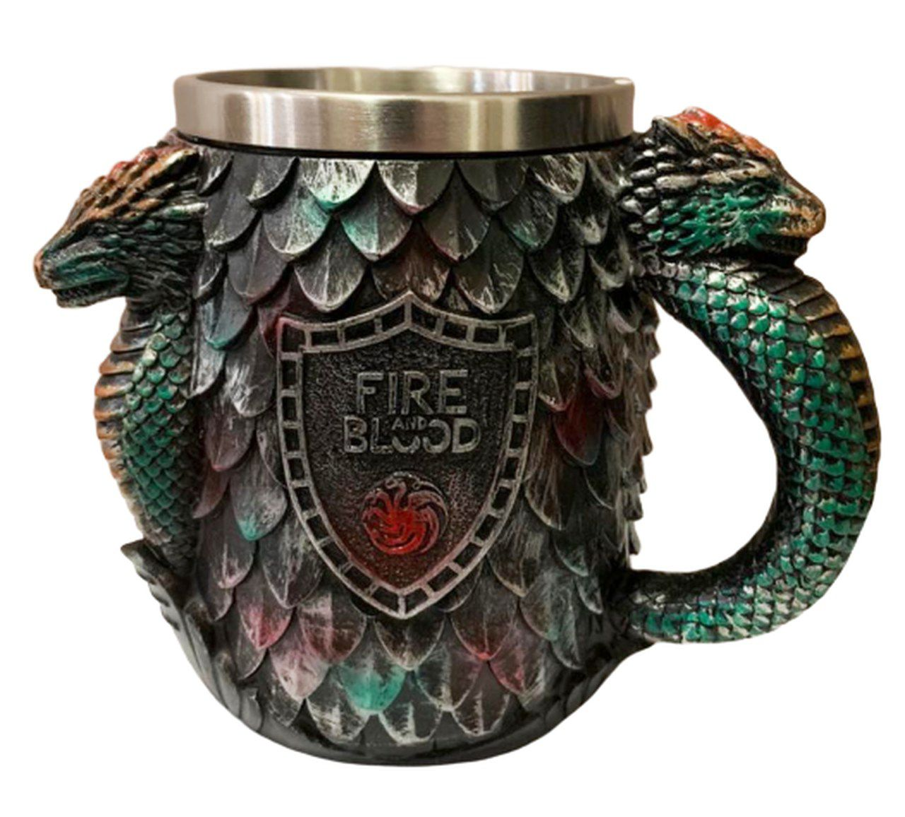 Caneca Targaryen (Fire and Blood): Game Of Thrones