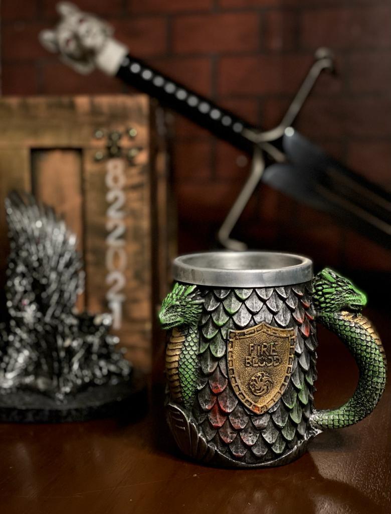 Caneca Targaryen (Fire and Blood): Game Of Thrones - EV