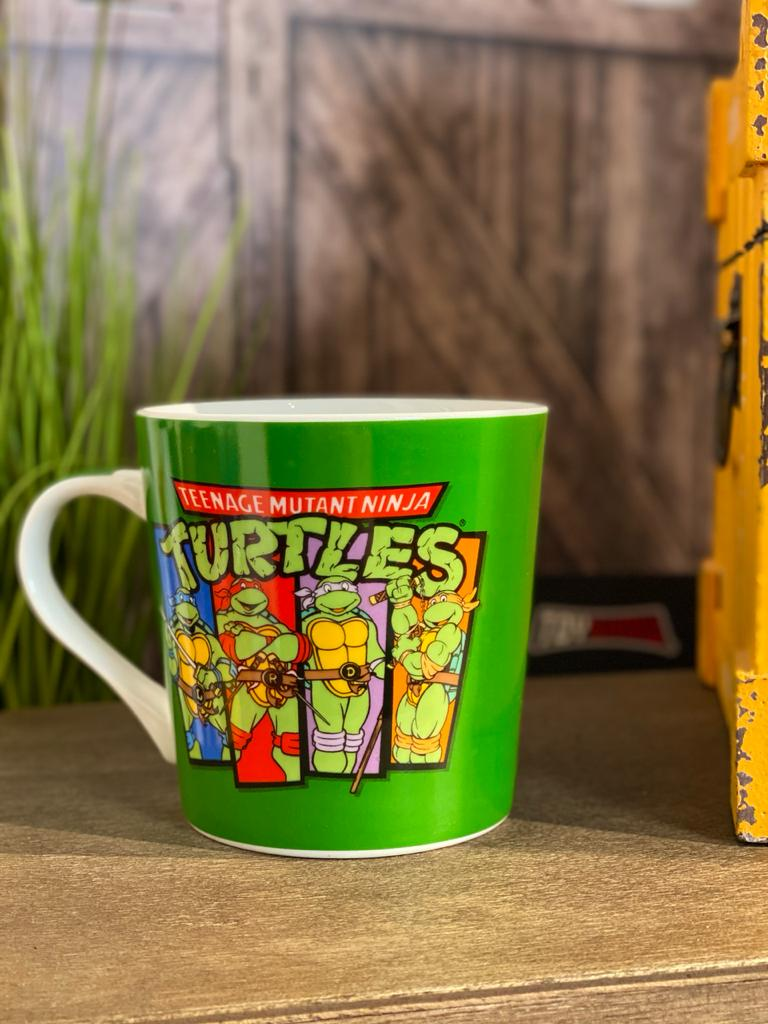 """Caneca Tartarugas Ninjas """"Classico"""" (Teenage Mutant Ninja Turtles) - Nickelodeon"""