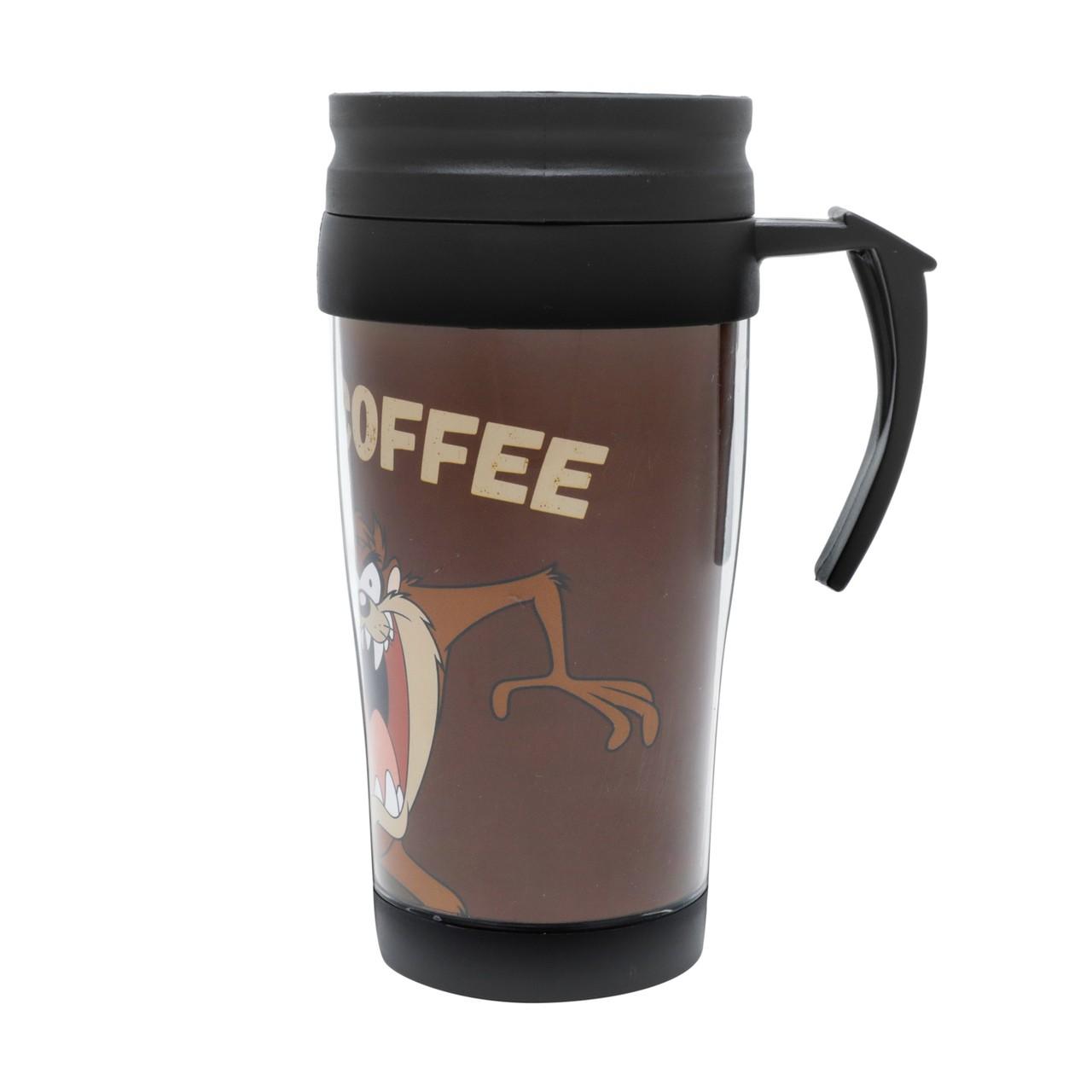 Caneca Térmica: '' Coffee '' Taz Looney Tunes - Urban