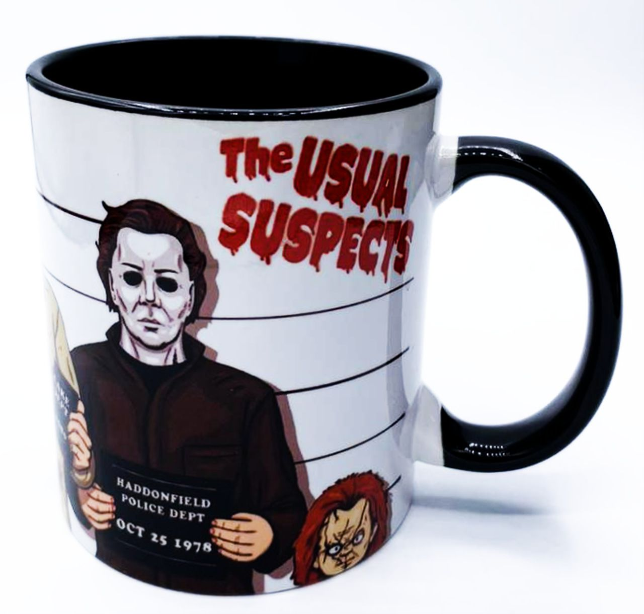 "Caneca Terror: ""The Usual Suspects"""