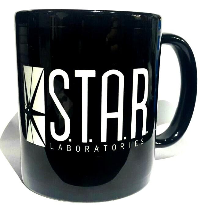 Caneca The Flash: Serie STAR Laboratories Preta