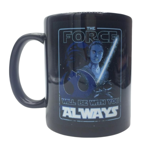 Caneca ''The Force Will Be With You Always'': Star Wars - Exclusiva Toyshow