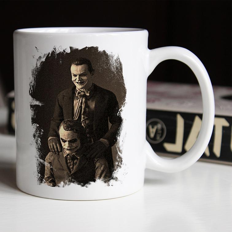 Caneca The Joker Like Father Like Son Jack Nicholson's: Coringa (Branca) - EV