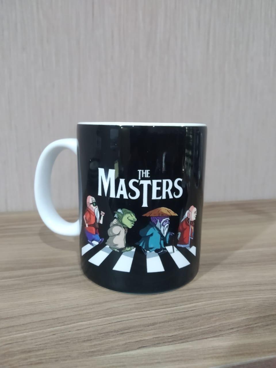 Caneca The Masters (Branco)