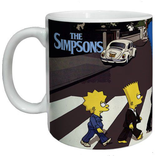 Caneca The Simpsons Abbey Road