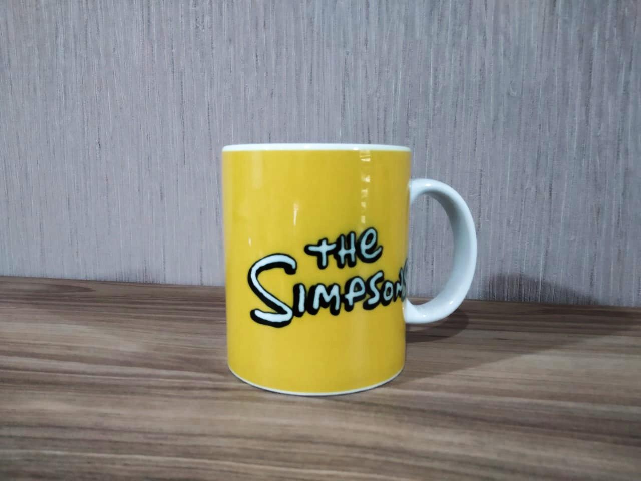 Caneca: The Simpsons (Amarela)