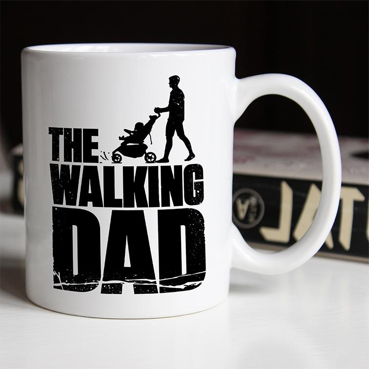 Caneca The Walking Dad: The Walking Dead (Branca) - EV