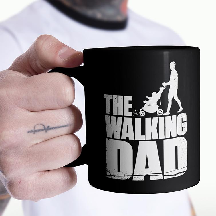 Caneca The Walking Dad: The Walking Dead (Preta) - EV