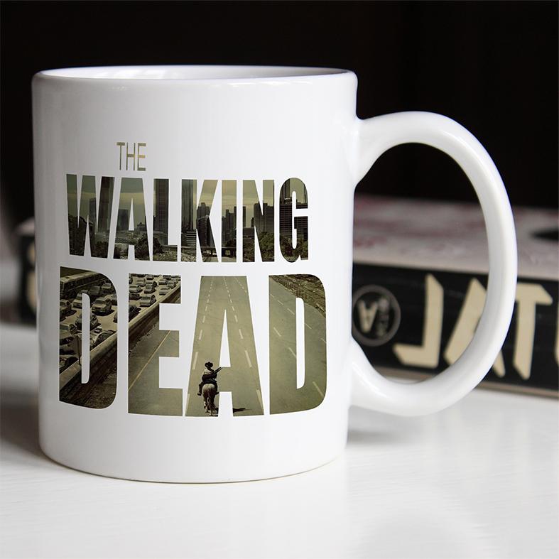 Caneca The Walking Dead (Branca) - EV