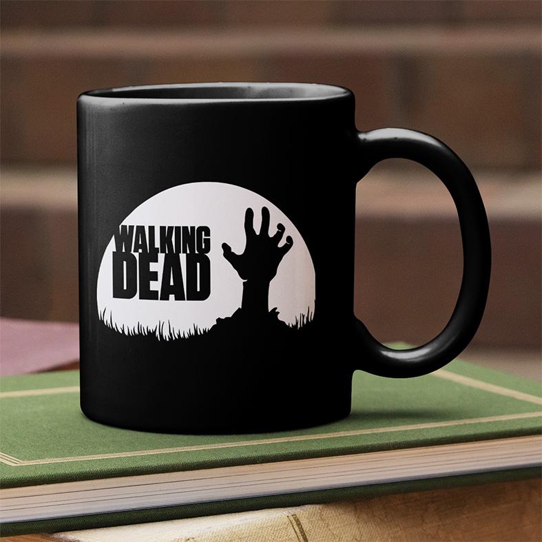 Caneca The Walking Dead Zombie (Preta) - EV