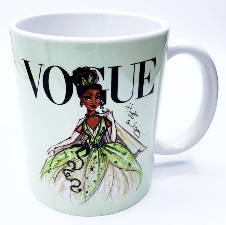 Caneca Tiana (Vogue): Princesas Disney