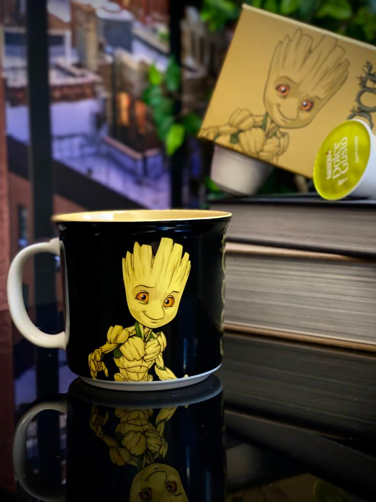 Caneca Tom Groot Os Guardiões Da Galáxia - Marvel (350ml)