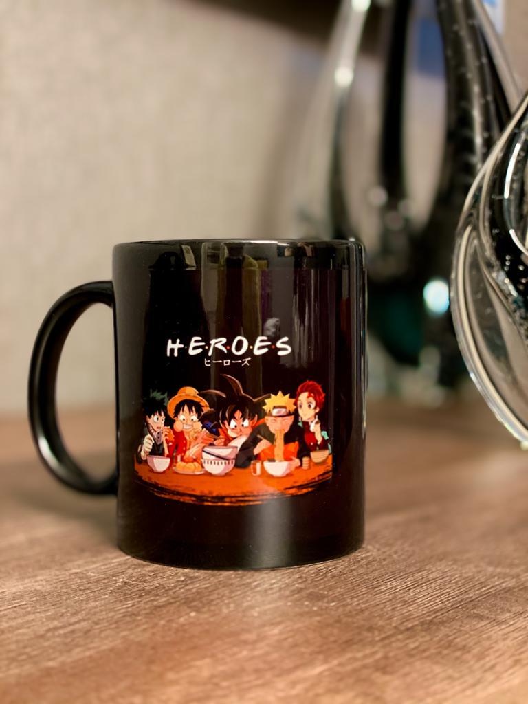 Caneca Versão Heroes: (Friends)